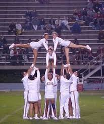Image Detail For Cheerleading Featured Stunt