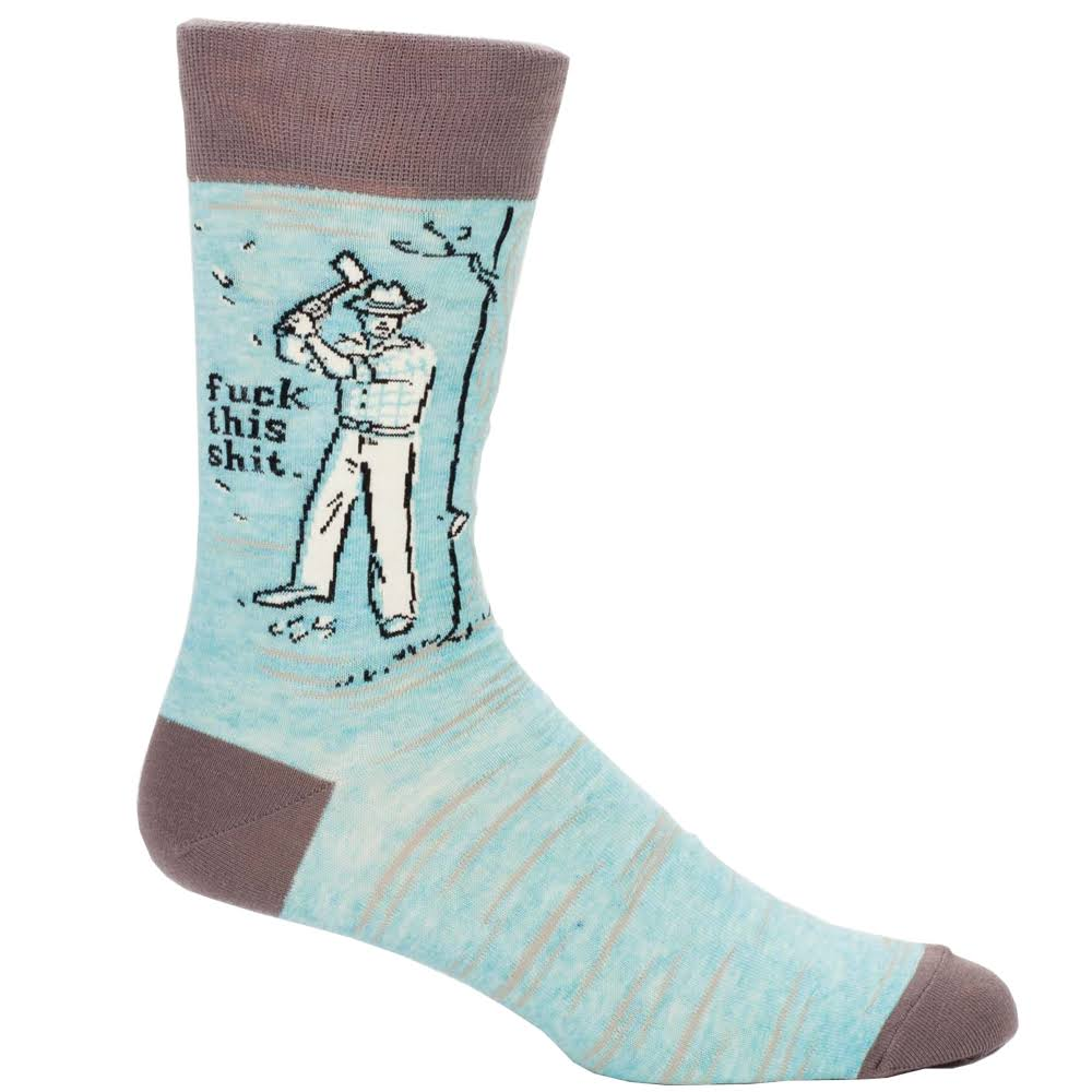 Men's Fuck This Shit Crew Socks