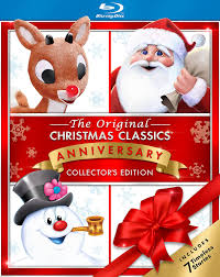 Frosty The Snowman Christmas Tree Theme by Amazon Com Christmas Classics With Frosty Rudolph And Santa Blu