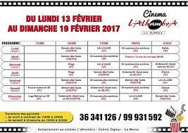 programme complet de 6 salles de cinéma de la semaine du 13 au 19