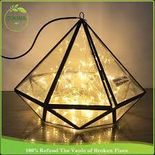 easy to care for moss balls in lightbulb glass vase terrariums