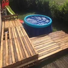 Great Pallet Pool Deck