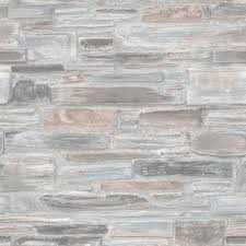 vliestapete steinwand steine blau grau exposure ep3201
