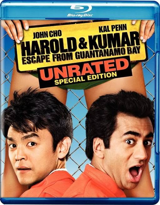 Harold & Kumar Escape from Guantanamo Bay - BLU-RAY