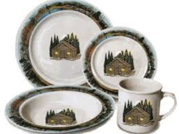 42 Cabin Style Dinnerware Costco Sets Images Also
