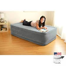 Aerobed With Headboard Twin by Aerobed Twin Inflatable Mattresses Airbeds Ebay