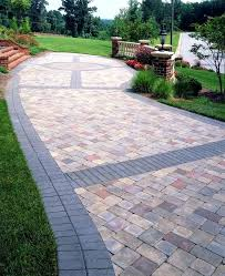 Full Image For Affordable Stone Patio Ideas Buy Paving Slabs Paver Banding Design