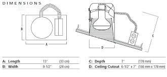 Recessed Lighting For Sloped Ceiling 6 Standard Light Housing See Details