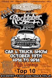 100 Truck Masters Az Rocktober Fest 2018 Car N Show Rock Bottom Restaurant