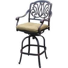 Darlee Patio Furniture Quality by Amazon Com Elisabeth 4 Person Cast Aluminum Patio Bar Set