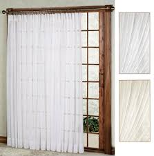 One Way Decorative Traverse Curtain Rods by One Way Draw Patio Curtain Thermal Patio Door Curtain