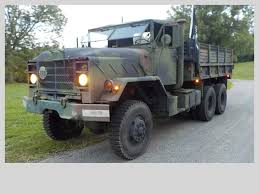 100 Deuce And A Half Truck Everything Works 1985 M General And A M923 Military