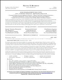 Sales Manager Resume Sample General Retail Cv Examples