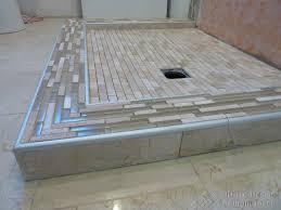 shower with niches maple ridge bc modern bathroom