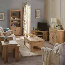 Oak Furniture Living Room Ideas With Henley Washed Collection Dunelm