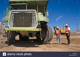 Terex Dump Truck Drivers. I-880 Cypress Project. Oakland, California ...