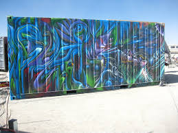 100 Shipping Containers San Francisco Street Art SF