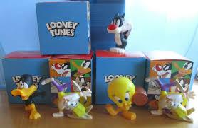 looney tunes sammelfiguren 2021 mc donalds 5 figuren mit