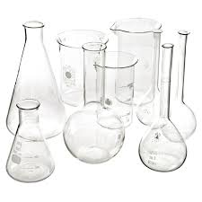 French Lab Glass Beaker Set Would Look Great As A Vase Set Or As