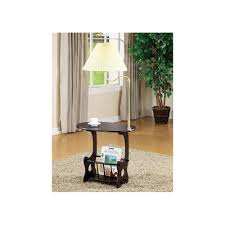 End Table With Attached Lamp by End Table With Attached Lamp And Magazine Rack Campernel Designs