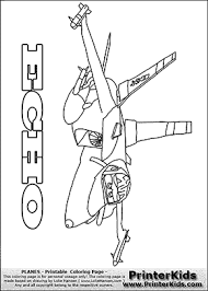 Coloring Page With Echo From The Animated Movie