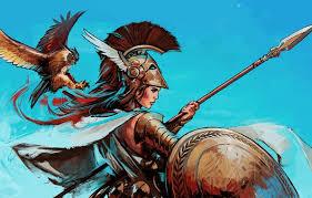 Pallas Athena Minerva She Was The