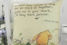 100 Winnie The Pooh Bedroom by Winnie The Pooh Pillow U0027keep Me In Your Heart U0027 Quote