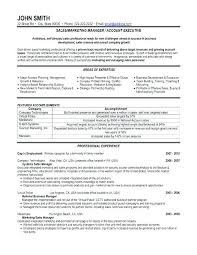 Resume Format For Sales Executive Manager Examples Inspirational Related Post