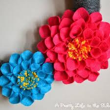 How To Make Handmade Flowers Paper Fabric Satin