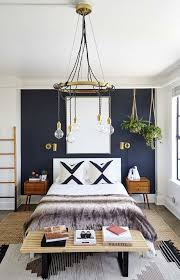 The Coolest It Girl Bedrooms We Want To Steal Blue Accent WallsBlue