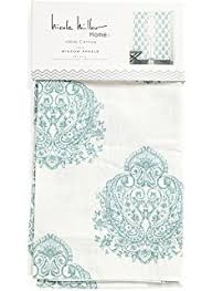 Millers Ready Made Curtains by Amazon Com Nicole Miller Medallion Pair Of Curtains Ash Gray On