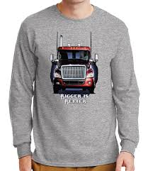 100 Cars Trucks Ebay Bigger Is Better Mens Long Sleeve Tshirt Cool Jeep