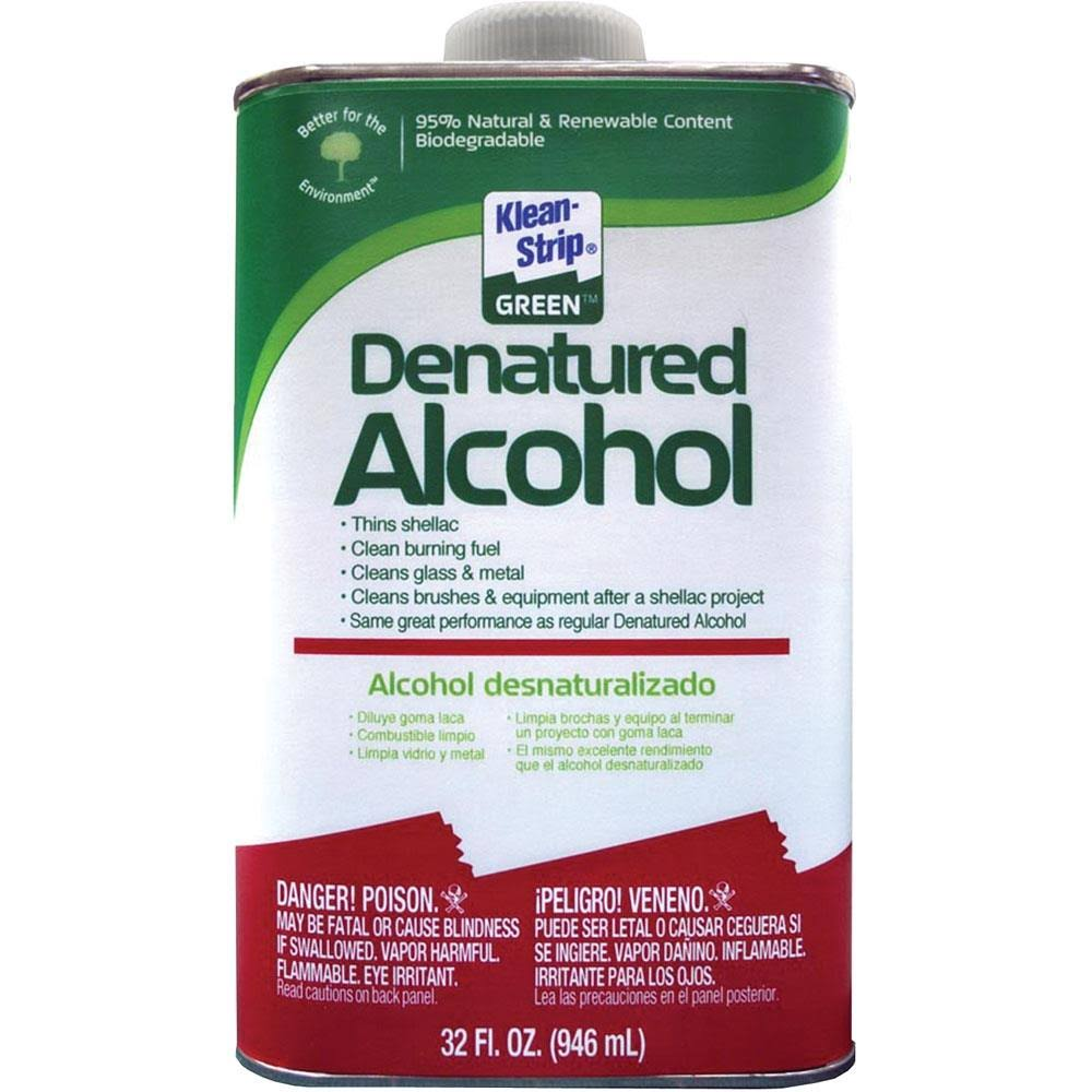 Klean-Strip Green Denatured Alcohol - 32 oz
