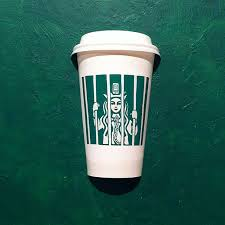 Illustrator Draws On Starbucks Cups To Creatively Transform The Logo