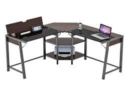 Wayfair Corner Computer Desk by Latitude Run Holloman L Shape Corner Computer Desk Wayfair