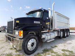 100 Dump Truck Drivers 2008 Mack Pinnacle CHU613 Dump Truck Item DB8581 SOLD O