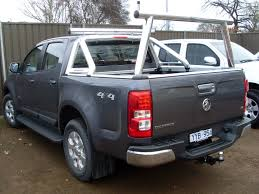 Ozrax Ute Ladder Bar & Sports Bar Adapter – Holden Colorado (06/2012 ...