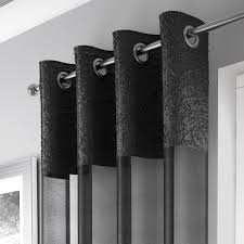 Ebay Curtains 108 Drop by Madeira Luxury Crushed Curtain Panel With Grommets And