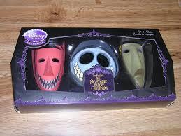 Nightmare Before Christmas Bathroom Set by Amazon Com Nightmare Before Christmas Set Of 3 Masks Lock Shock