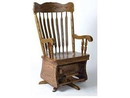 Horseshoe Bend Amish Rocking Chairs Customizable Solid Wood ...