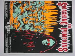 Smashing Pumpkins Merchandise T Shirts by Rigmarole Poster Flyer Und Postkarten