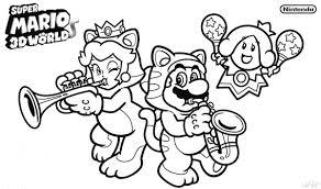 Coloriage Mario Coloriage Super Mario Et Peach 3515