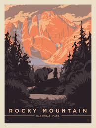 100 Mountain Design Group Rocky National Park Bear Hug Anderson