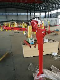100 Pickup Truck Warehouse 600 Kgs AC Power Pickup Truck Crane Used For WarehouseLifting Crane
