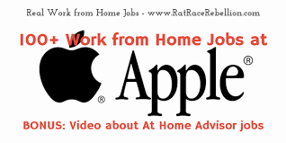 100 Work from Home Jobs at Apple with VIDEO Real Work From