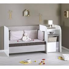 chambre sauthon pas cher sauthon lit combiné evolutif bébé couchage 70x140 cm blanc et