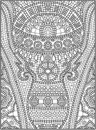 19 Printable Advanced Coloring Pages