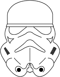 Stormtrooper Stencil Halloween by Stormtrooper Coloring Page Az Coloring Pages Birthday Party