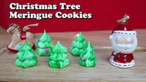 Christmas Tree Meringues by Eng Sub Christmas Tree Meringue Cookies 크리스마스 트리 머랭