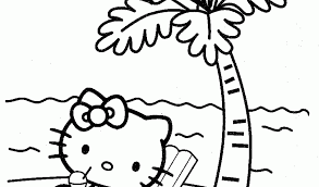Free Printable Hello Kitty Coloring Pages For Kids1